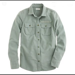 J. Crew Military Button Down Top